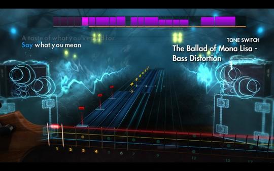 "Скриншот №4 к Rocksmith® 2014 Edition - Remastered – Panic! At The Disco - ""Ballad of Mona Lisa"""