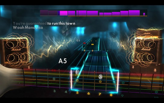 "Скриншот №2 к Rocksmith® 2014 Edition - Remastered – Panic! At The Disco - ""Ballad of Mona Lisa"""