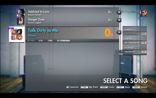 "Скриншот №1 к Rocksmith® 2014 Edition - Remastered – Poison - ""Talk Dirty To Me"""