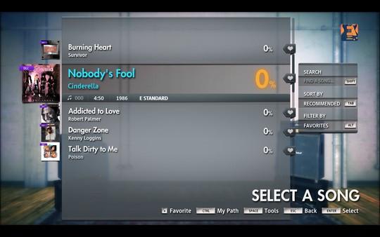 "Скриншот №1 к Rocksmith® 2014 Edition - Remastered – Cinderella - ""Nobodys Fool"""