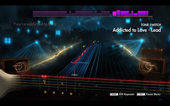 """Скриншот №2 к Rocksmith® 2014 Edition - Remastered – Robert Palmer - """"Addicted To Love"""""""