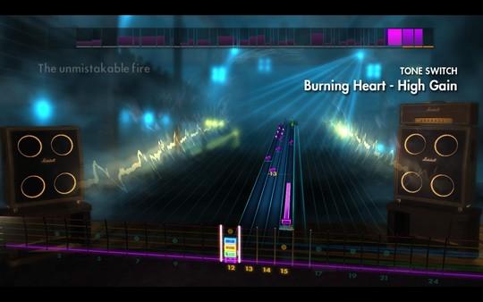 "Скриншот №2 к Rocksmith® 2014 Edition - Remastered – Survivor - ""Burning Heart"""