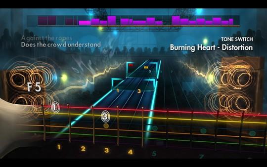 "Скриншот №3 к Rocksmith® 2014 Edition - Remastered – Survivor - ""Burning Heart"""