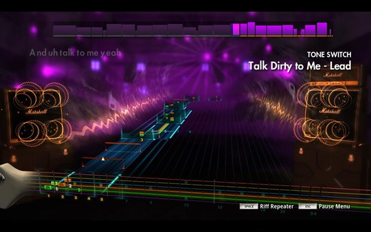 Скриншот №1 к Rocksmith® 2014 Edition – Remastered – UBI30 1986 Song Pack