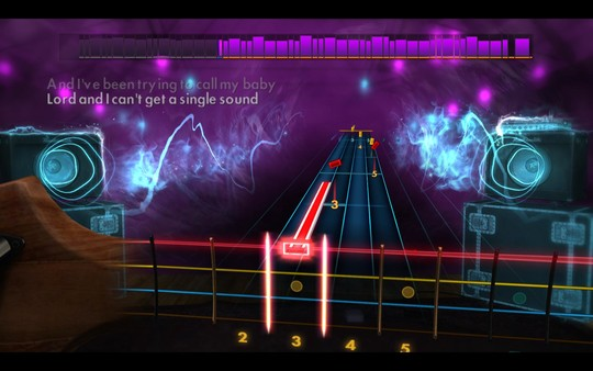"Скриншот №3 к Rocksmith® 2014 Edition – Remastered – Stevie Ray Vaughan  Double Trouble - ""Texas Flood"""