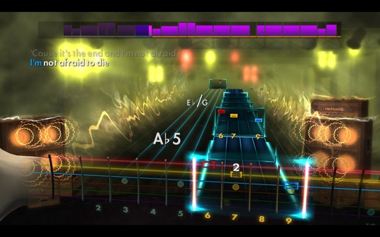 "Скриншот №2 к Rocksmith® 2014 Edition – Remastered – Black Veil Brides - ""In The End"""