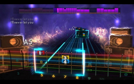 "Скриншот №5 к Rocksmith® 2014 Edition – Remastered – Third Eye Blind - ""Never Let You Go"