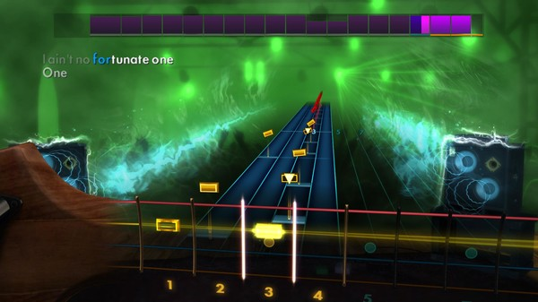 """Скриншот №4 к Rocksmith® 2014 Edition – Remastered – Creedence Clearwater Revival - """"Fortunate Son"""""""