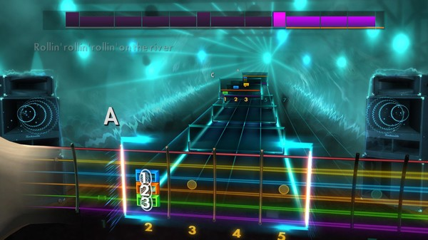 """Скриншот №3 к Rocksmith® 2014 Edition – Remastered – Creedence Clearwater Revival - """"Proud Mary"""""""