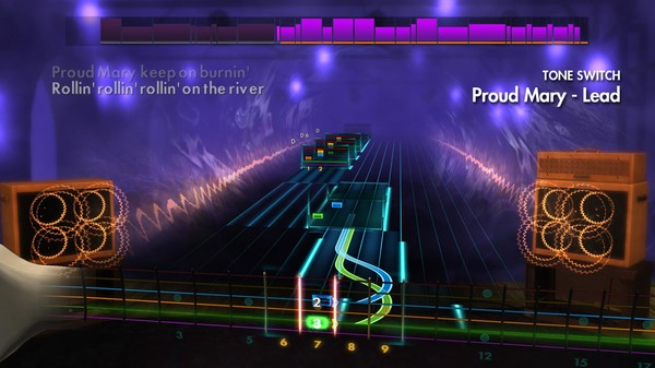 """Скриншот №5 к Rocksmith® 2014 Edition – Remastered – Creedence Clearwater Revival - """"Proud Mary"""""""