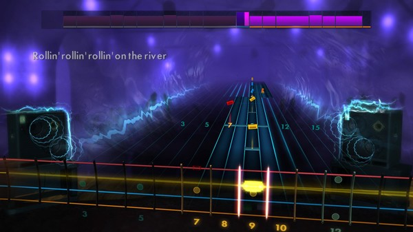 """Скриншот №2 к Rocksmith® 2014 Edition – Remastered – Creedence Clearwater Revival - """"Proud Mary"""""""