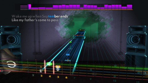 """Скриншот №3 к Rocksmith® 2014 Edition – Remastered – Green Day - """"Wake Me Up When September Ends"""""""
