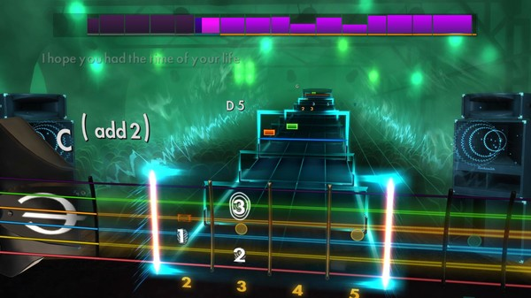Скриншот №5 к Rocksmith® 2014 Edition – Remastered – Green Day Song Pack II