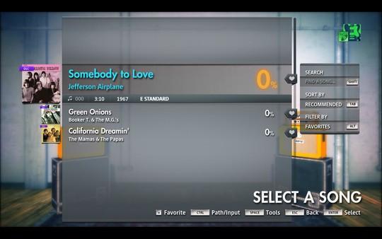 "Скриншот №2 к Rocksmith® 2014 Edition – Remastered – Jefferson Airplane - ""Somebody To Love"""