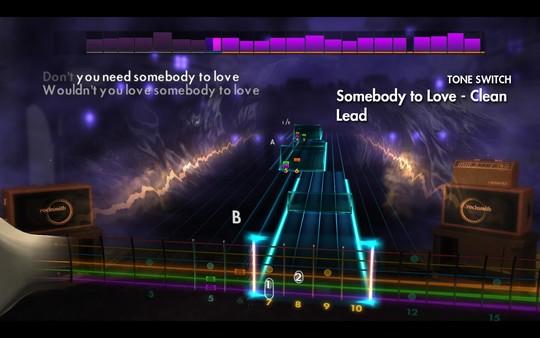 "Скриншот №3 к Rocksmith® 2014 Edition – Remastered – Jefferson Airplane - ""Somebody To Love"""