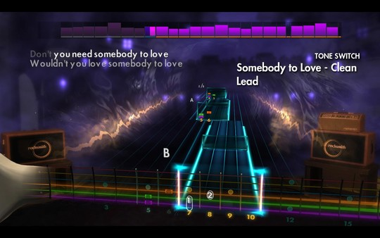 Скриншот №1 к Rocksmith® 2014 Edition – Remastered – 60s Mix Song Pack II