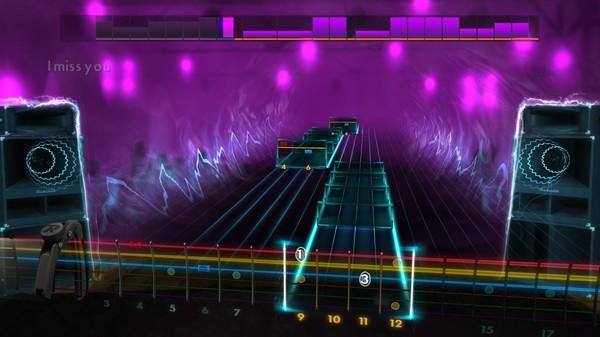 Скриншот №2 к Rocksmith® 2014 Edition  - Remastered – blink-182 - I Miss You