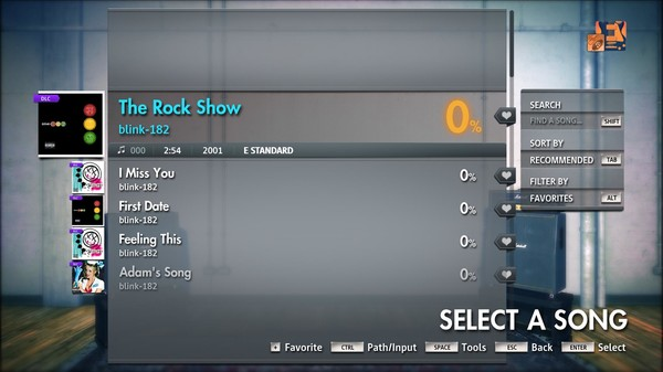 "Скриншот №1 к Rocksmith® 2014 Edition – Remastered – blink-182 - ""The Rock Show"""