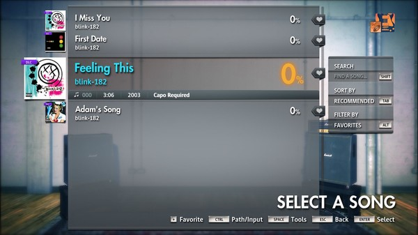 "Скриншот №3 к Rocksmith® 2014 Edition – Remastered – blink-182 - ""Feeling This"""