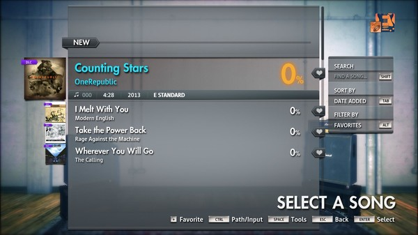 "Скриншот №1 к Rocksmith® 2014 Edition – Remastered – OneRepublic - ""Counting Stars"""