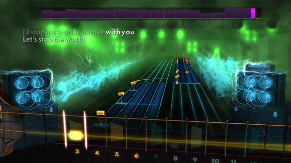 "Скриншот №1 к Rocksmith® 2014 Edition – Remastered – Modern English - ""I Melt With You"""
