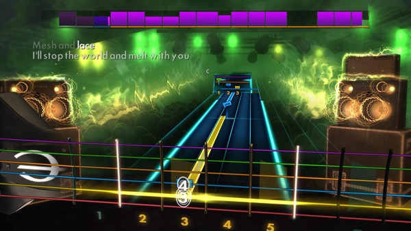 "Скриншот №3 к Rocksmith® 2014 Edition – Remastered – Modern English - ""I Melt With You"""
