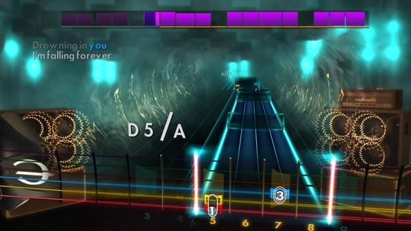 "Скриншот №2 к Rocksmith® 2014 Edition – Remastered – Evanescence - ""Going Under"""