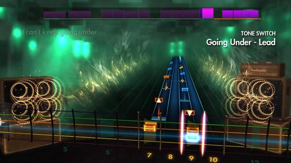 "Скриншот №3 к Rocksmith® 2014 Edition – Remastered – Evanescence - ""Going Under"""