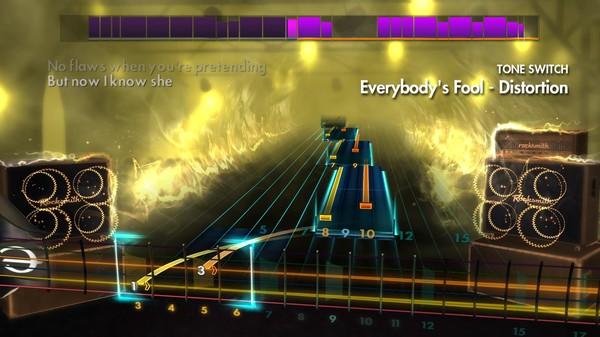 """Скриншот №1 к Rocksmith® 2014 Edition – Remastered – Evanescence - """"Everybodys Fool"""""""