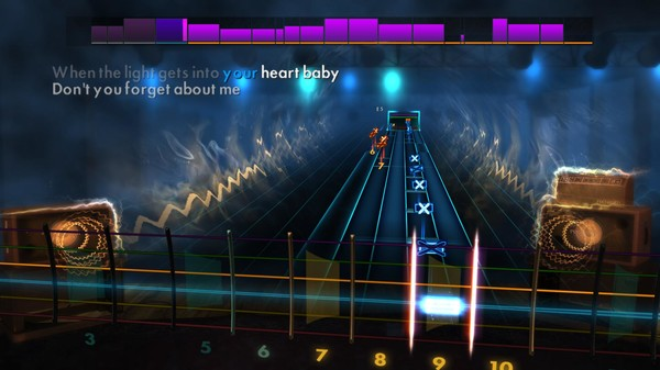 "Скриншот №4 к Rocksmith® 2014 Edition – Remastered – Simple Minds - ""Dont You Forget About Me"""