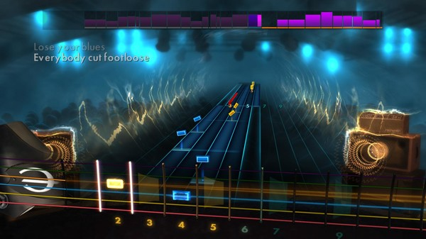 "Скриншот №5 к Rocksmith® 2014 Edition – Remastered – Kenny Loggins - ""Footloose"""