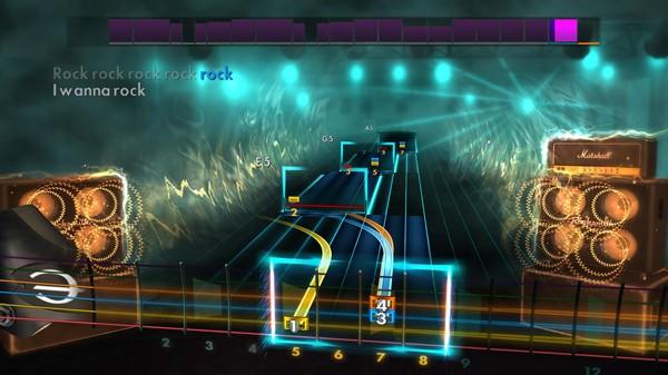 "Скриншот №4 к Rocksmith® 2014 Edition – Remastered – Twisted Sister - ""I Wanna Rock"""