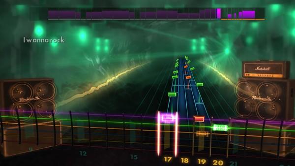 "Скриншот №1 к Rocksmith® 2014 Edition – Remastered – Twisted Sister - ""I Wanna Rock"""