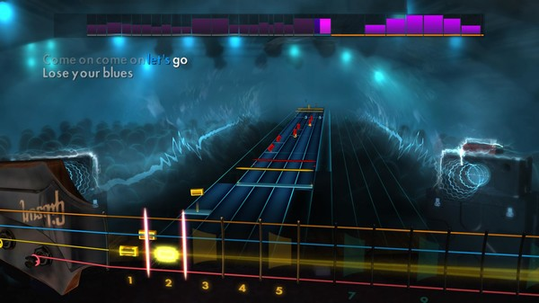 Скриншот №5 к Rocksmith® 2014 Edition – Remastered – 80s Mix Song Pack II
