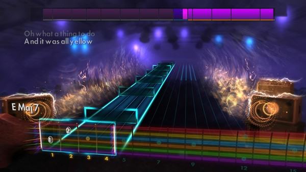 "Скриншот №2 к Rocksmith® 2014 Edition – Remastered – Coldplay - ""Yellow"""