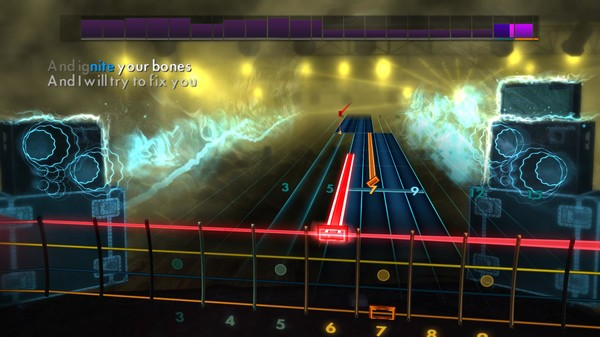 "Скриншот №3 к Rocksmith® 2014 Edition – Remastered – Coldplay - ""Fix You"""