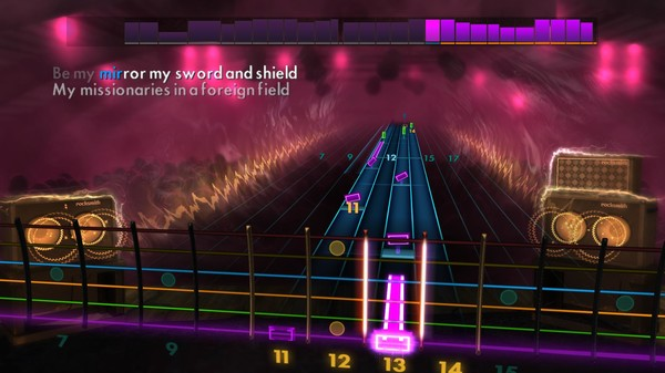 Скриншот №1 к Rocksmith® 2014 Edition – Remastered – Coldplay Song Pack