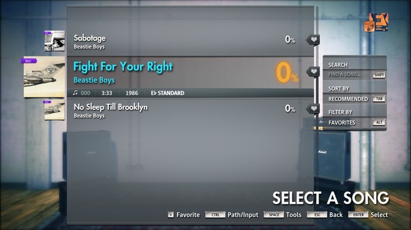 """Скриншот №3 к Rocksmith® 2014 Edition – Remastered – Beastie Boys - """"Fight For Your Right"""""""