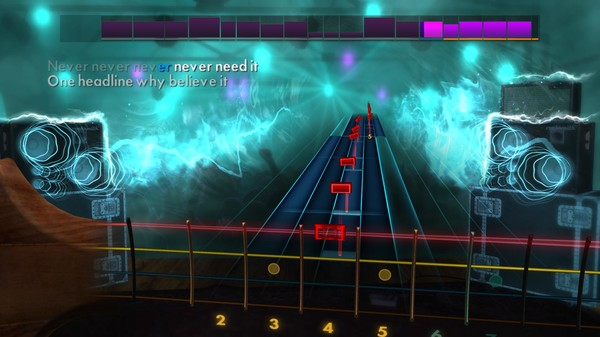 "Скриншот №5 к Rocksmith® 2014 Edition – Remastered – Tears for Fears - ""Everybody Wants to Rule the World"""