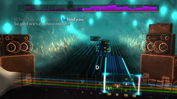 "Скриншот №1 к Rocksmith® 2014 Edition – Remastered – Tears for Fears - ""Everybody Wants to Rule the World"""
