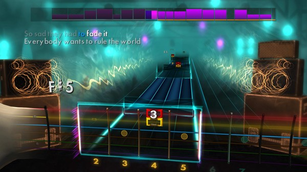 "Скриншот №2 к Rocksmith® 2014 Edition – Remastered – Tears for Fears - ""Everybody Wants to Rule the World"""