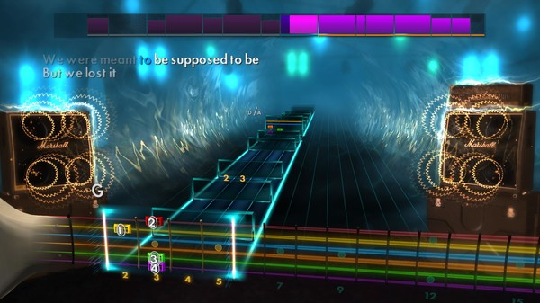 "Скриншот №5 к Rocksmith® 2014 Edition – Remastered – Avril Lavigne - ""My Happy Ending"""
