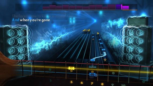 """Скриншот №1 к Rocksmith® 2014 Edition – Remastered – Avril Lavigne - """"When Youre Gone"""""""