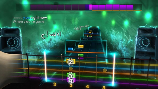 """Скриншот №3 к Rocksmith® 2014 Edition – Remastered – Avril Lavigne - """"When Youre Gone"""""""