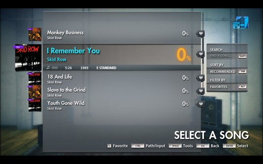 "Скриншот №1 к Rocksmith® 2014 Edition – Remastered – Skid Row - ""I Remember You"""