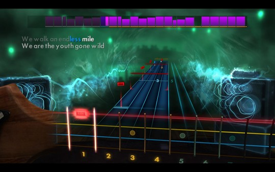 "Скриншот №4 к Rocksmith® 2014 Edition – Remastered – Skid Row - ""Youth Gone Wild"""