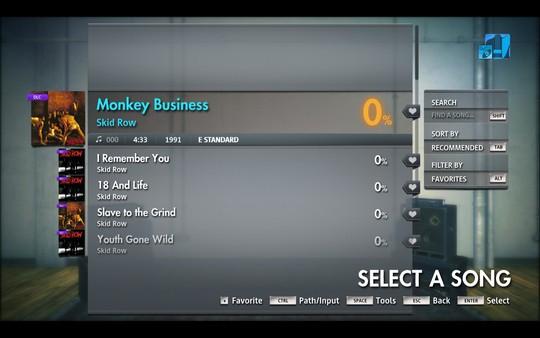 """Скриншот №4 к Rocksmith® 2014 Edition – Remastered – Skid Row - """"Monkey Business"""""""