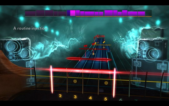 "Скриншот №1 к Rocksmith® 2014 Edition – Remastered – Skid Row - ""Slave to the Grind"""