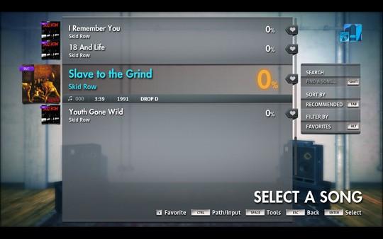 "Скриншот №4 к Rocksmith® 2014 Edition – Remastered – Skid Row - ""Slave to the Grind"""