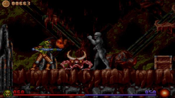 Alien Rampage Captura 1